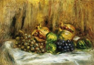 Pierre-Auguste Renoir - Still Life with Grapes