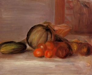 Pierre-Auguste Renoir - Still Life with Melon 1