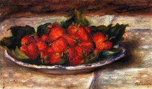 Pierre-Auguste Renoir - Still Life with Strawberries 2