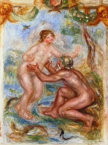 Pierre-Auguste Renoir - Study for The Saone Embraced by the Rhone