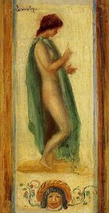 Pierre-Auguste Renoir - Study of a Woman, for Oedipus