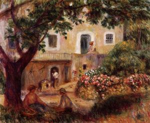 Pierre-Auguste Renoir - The Farm 1