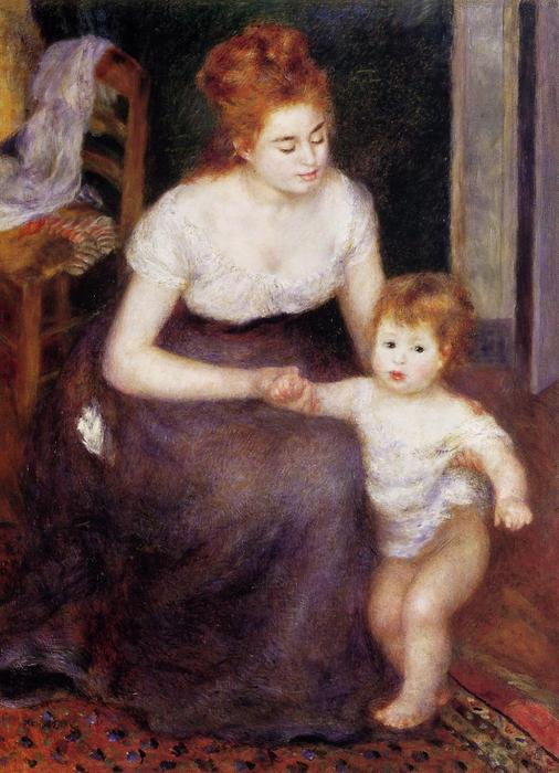 famous painting The First Step of Pierre-Auguste Renoir