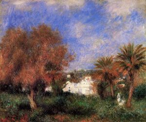 Pierre-Auguste Renoir - The Garden of Essai in Algiers