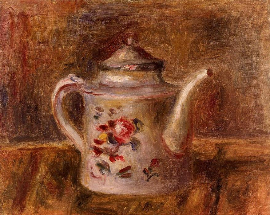 famous painting Watering Can of Pierre-Auguste Renoir