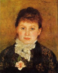 Pierre-Auguste Renoir - Woman Wearing White Frills