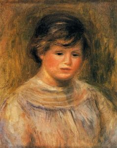 Pierre-Auguste Renoir - Woman's Head