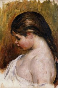 Pierre-Auguste Renoir - Young Girl Reading 2