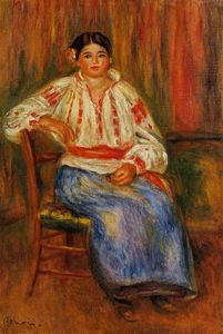 Pierre-Auguste Renoir - Young Roumanian