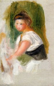 Pierre-Auguste Renoir - Young Woman