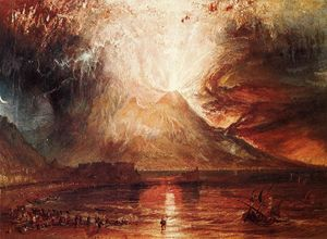 William Turner - Eruption of Vesuvius