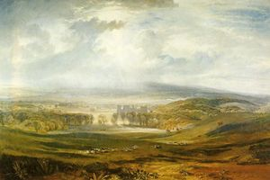 William Turner - Raby Castle, the Seat of the Earl of Darlington