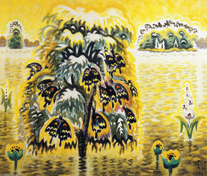 Charles Ephraim Burchfield - Golden Dream