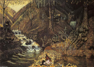 Charles Ephraim Burchfield - The Coming Of Spring 1