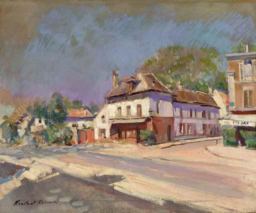 famous painting South of France of Konstantin Alekseyevich Korovin