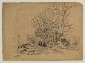 David Cox - Landscape With A Clump Of Trees