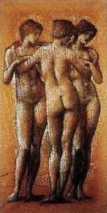 Edward Coley Burne-Jones - The Three Graces