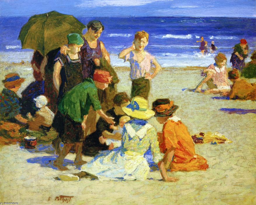 famous painting A Family Outing 1 of Edward Henry Potthast