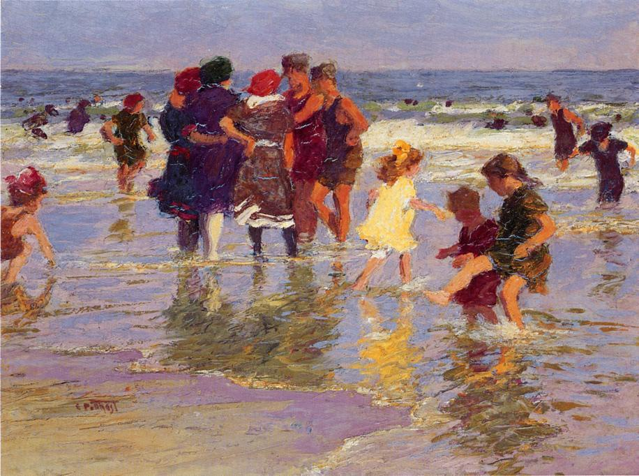famous painting A July Day of Edward Henry Potthast