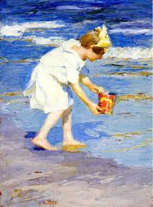 Edward Henry Potthast - Brighton Beach
