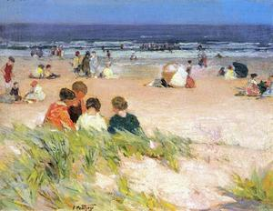 Edward Henry Potthast - By the Shore