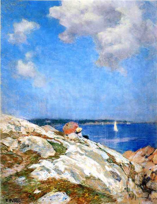 famous painting Cape Ann Coast of Edward Henry Potthast