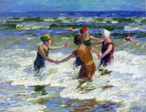 Edward Henry Potthast - Circle of Friends