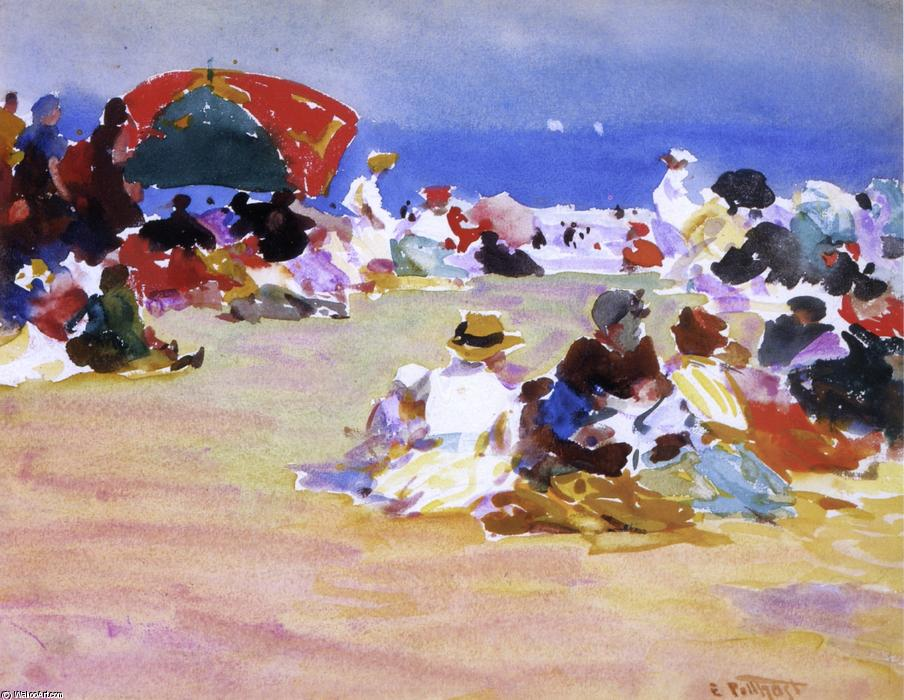 famous painting Hot Summer Day of Edward Henry Potthast
