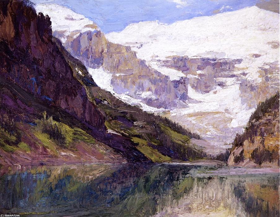 famous painting Lake Louise of Edward Henry Potthast
