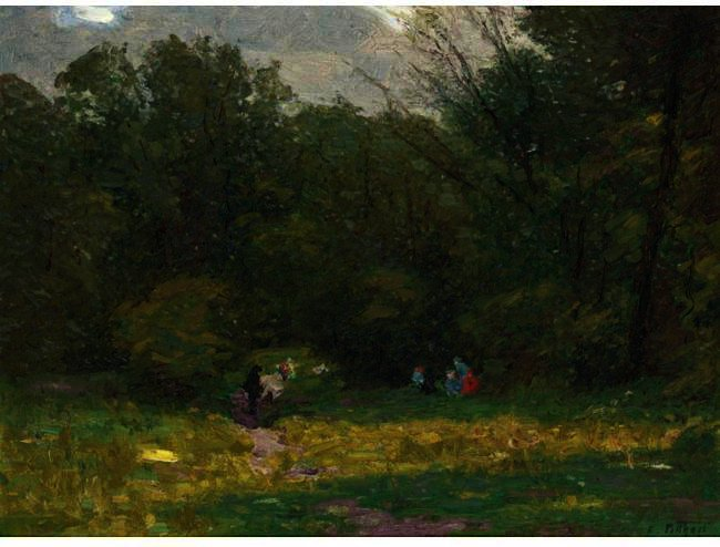 famous painting Landscape of Edward Henry Potthast
