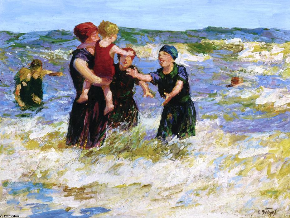 famous painting Making Friends of Edward Henry Potthast