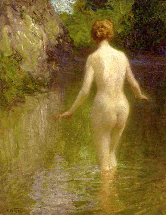 famous painting Nude of Edward Henry Potthast