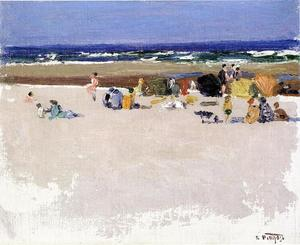 Edward Henry Potthast - On the Beach 1