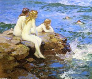 Edward Henry Potthast - Sea Numphs