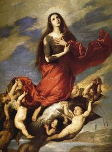 Jusepe De Ribera (Lo Spagnoletto) - Assumption of Mary Magdalene
