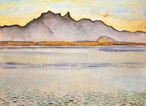 Ferdinand Hodler - The Mountains of Stockborn