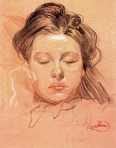 Frantisek Kupka - Sleeping Face