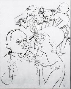 George Grosz - The Latest Hit