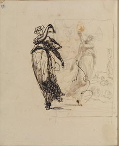 George Romney - Page from a sketchbook 37
