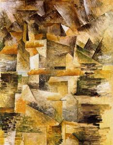 Georges Braque - Factory of Rio Tinto in the L'estanque