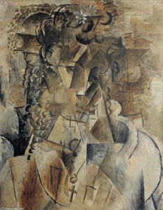 Georges Braque - Girl With A Cross