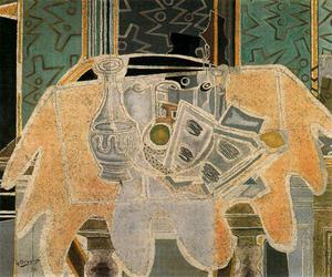 Georges Braque - The red mantel