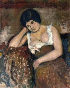 Georges Lemmen - Seated Woman