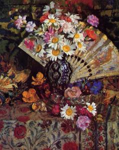Georges Lemmen - Still Life with Fan