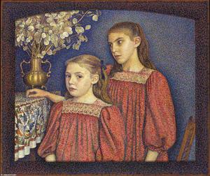 Georges Lemmen - The Two Sisters or The Serruys Sisters