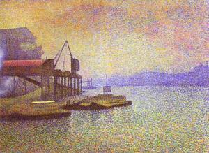 Georges Lemmen - View of the Thames
