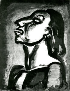 Georges Rouault - His lawyer,in empty phrases, claims his total unconsciousness