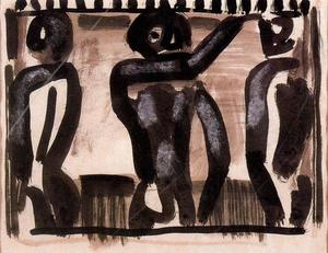 Georges Rouault - Project for the reincarnation of Father Ubu 2
