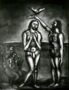 Georges Rouault - We ... By his death we were Baptized