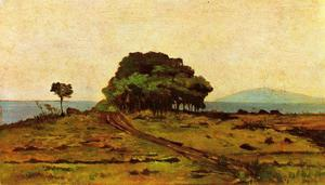 Giovanni Fattori - Grove by the Sea
